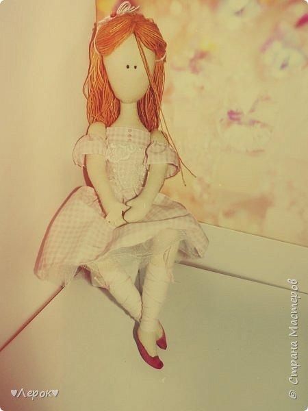 Куколка по мотивам  Екатерины Онешко..... Была использована такая выкройка https://vk.com/photo-55074332_382803085 фото 1