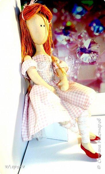 Куколка по мотивам  Екатерины Онешко..... Была использована такая выкройка https://vk.com/photo-55074332_382803085 фото 2