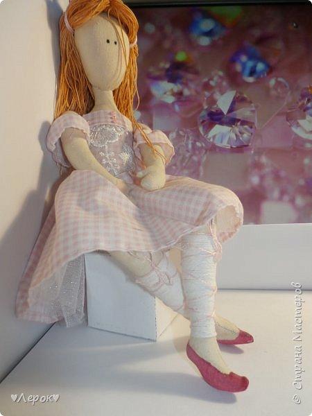 Куколка по мотивам  Екатерины Онешко..... Была использована такая выкройка https://vk.com/photo-55074332_382803085 фото 4