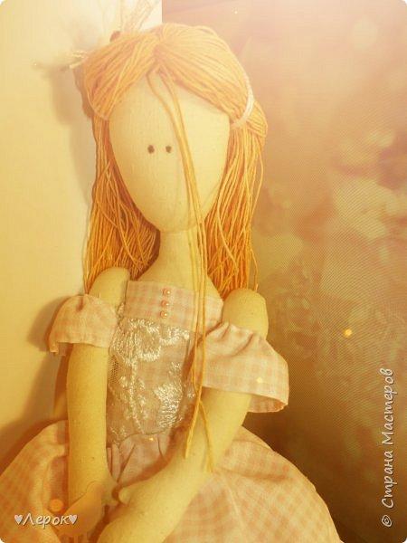 Куколка по мотивам  Екатерины Онешко..... Была использована такая выкройка https://vk.com/photo-55074332_382803085 фото 3