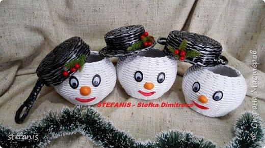 снеговики :) фото 2