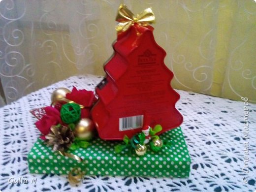 Новогодний теремок для Снеговичка , вдохновляласьу Ирины Рязаночки,спасибо большущее ей за МК. фото 7