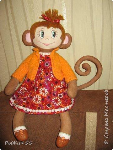 Анфиска- игровая кукла. Можно одевать-раздевать, расчесывать. фото 2