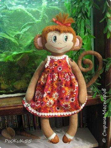 Анфиска- игровая кукла. Можно одевать-раздевать, расчесывать. фото 3