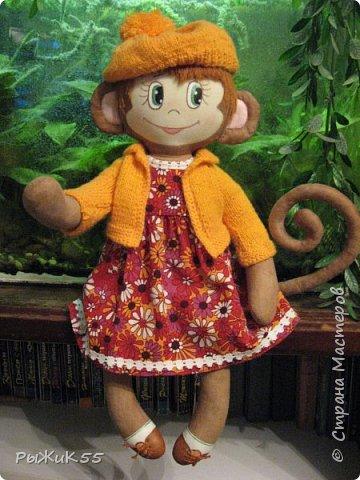 Анфиска- игровая кукла. Можно одевать-раздевать, расчесывать. фото 1