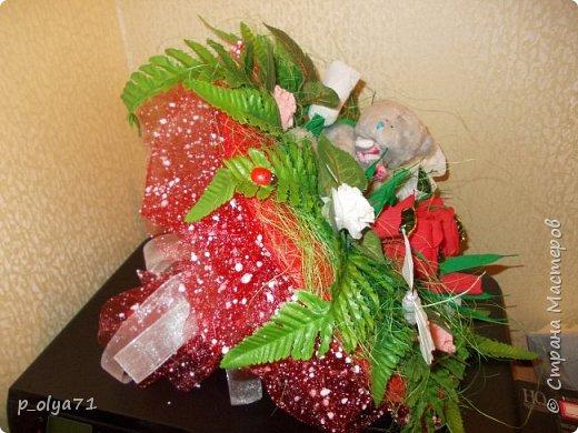 Здравствуйте!!!Очень рада всем! Вот накопилось за декабрь)) Опять бутылочки и букетики(в подарок) фото 47