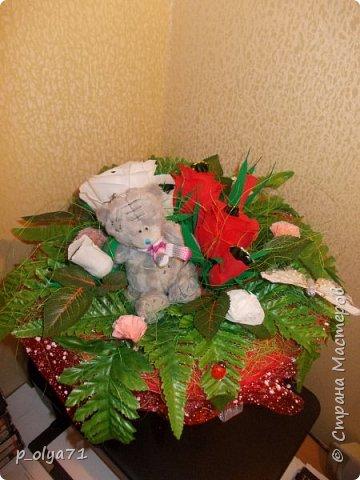 Здравствуйте!!!Очень рада всем! Вот накопилось за декабрь)) Опять бутылочки и букетики(в подарок) фото 44
