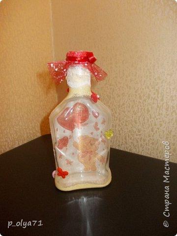 Здравствуйте!!!Очень рада всем! Вот накопилось за декабрь)) Опять бутылочки и букетики(в подарок) фото 13