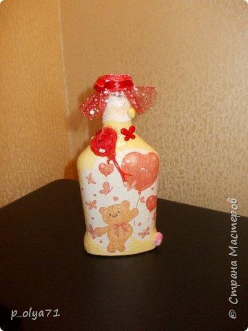 Здравствуйте!!!Очень рада всем! Вот накопилось за декабрь)) Опять бутылочки и букетики(в подарок) фото 14