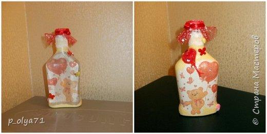 Здравствуйте!!!Очень рада всем! Вот накопилось за декабрь)) Опять бутылочки и букетики(в подарок) фото 12