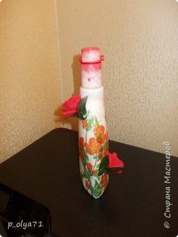 Здравствуйте!!!Очень рада всем! Вот накопилось за декабрь)) Опять бутылочки и букетики(в подарок) фото 25