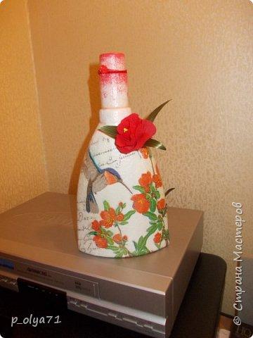 Здравствуйте!!!Очень рада всем! Вот накопилось за декабрь)) Опять бутылочки и букетики(в подарок) фото 20