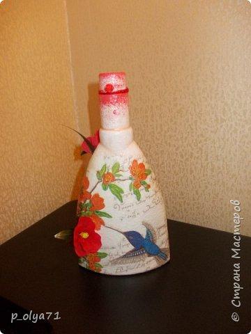 Здравствуйте!!!Очень рада всем! Вот накопилось за декабрь)) Опять бутылочки и букетики(в подарок) фото 22