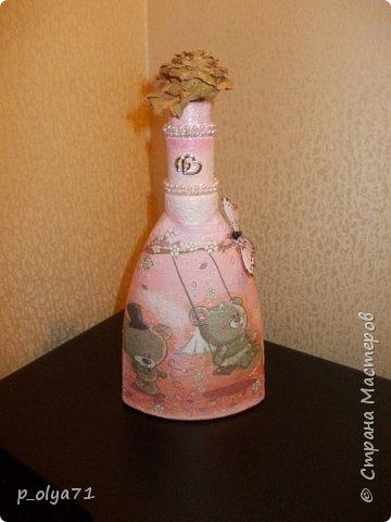 Здравствуйте!!!Очень рада всем! Вот накопилось за декабрь)) Опять бутылочки и букетики(в подарок) фото 16