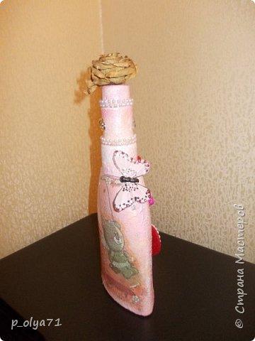 Здравствуйте!!!Очень рада всем! Вот накопилось за декабрь)) Опять бутылочки и букетики(в подарок) фото 18