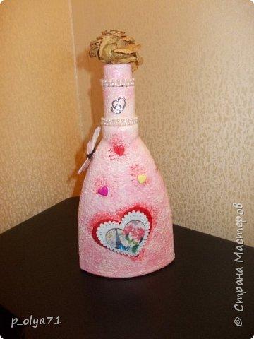 Здравствуйте!!!Очень рада всем! Вот накопилось за декабрь)) Опять бутылочки и букетики(в подарок) фото 17