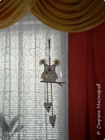 Привет, СТРАНА!!! В преддверии Нового года и в завершение творчества старого года хочу поделится с вами небольшим мк по пошиву вот такой совушки)) фото 12