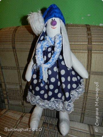 Тильды зайцы в подарок подругам фото 2