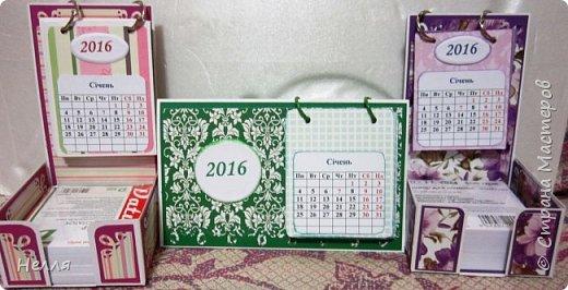 Всем привет. Покажу работы, которые сделала за последние месяцы.   Очень понравилась идея календаря  у Альбины https://stranamasterov.ru/node/343396 , решила сделать. Это первый календарь. фото 4