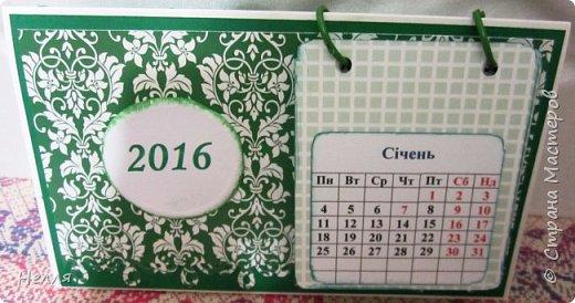 Всем привет. Покажу работы, которые сделала за последние месяцы.   Очень понравилась идея календаря  у Альбины https://stranamasterov.ru/node/343396 , решила сделать. Это первый календарь. фото 8