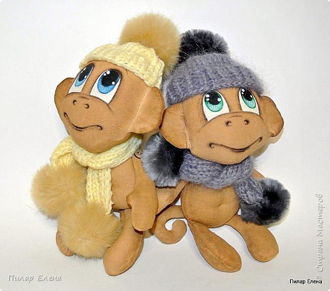Обезьянки в шапочках фото 4