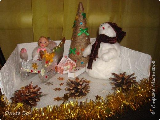 Новогодняя композиция в детский сад. фото 1