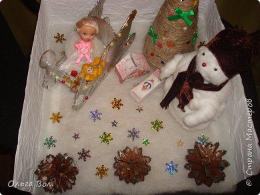 Новогодняя композиция в детский сад. фото 6
