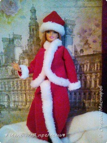 """Всем привет! Сегодня мы сдаем работу на конкурс """"Новый год раз в году """". Я сшила костюм снегурочки.  фото 1"""