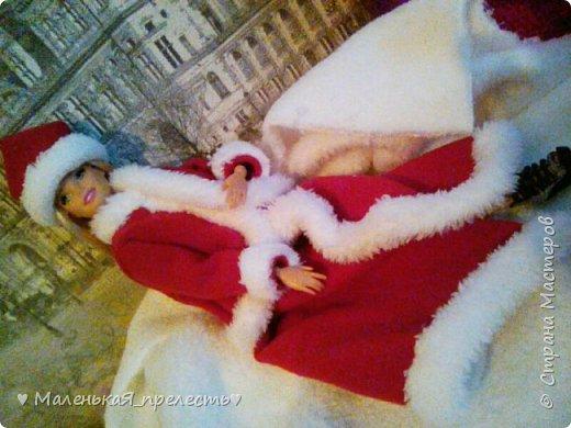 """Всем привет! Сегодня мы сдаем работу на конкурс """"Новый год раз в году """". Я сшила костюм снегурочки.  фото 3"""