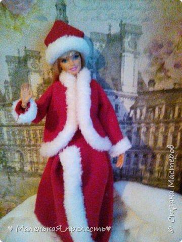 """Всем привет! Сегодня мы сдаем работу на конкурс """"Новый год раз в году """". Я сшила костюм снегурочки.  фото 7"""