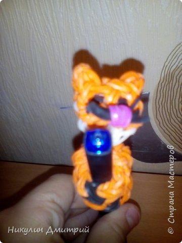 коттёнок из резинок на ручку фото 2