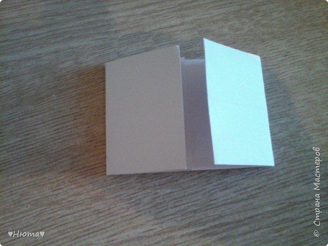 мини-блокнотик из бумаги МК фото 11