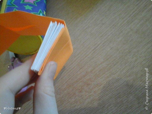 мини-блокнотик из бумаги МК фото 16