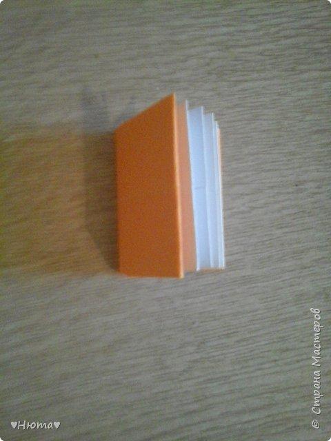 мини-блокнотик из бумаги МК фото 20