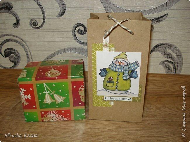 У детей в классах существует хорошая традиция - обмениваться новогодними подарками. Это мы подготовили с дочкой. фото 1