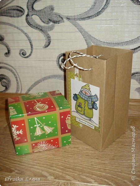 У детей в классах существует хорошая традиция - обмениваться новогодними подарками. Это мы подготовили с дочкой. фото 2