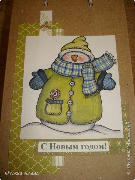 У детей в классах существует хорошая традиция - обмениваться новогодними подарками. Это мы подготовили с дочкой. фото 5