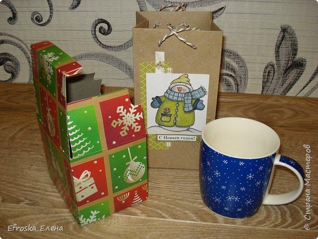 У детей в классах существует хорошая традиция - обмениваться новогодними подарками. Это мы подготовили с дочкой. фото 4