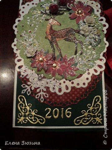 Всех жителей Страны Мастеров поздравляю с наступающим Новым годом!!! Мира, Здоровья и Счастья! Пусть исполнятся самые заветные желания! В преддверии Нового года делала подарки для хороших людей. 4 маленьких блокнотика. Это первый. Размер 11х15 см фото 21