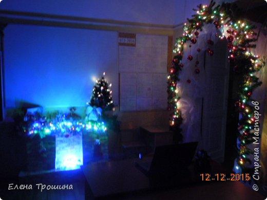 Мой кабинет  рано утром при свете фонариков. фото 1