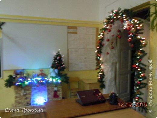 Мой кабинет  рано утром при свете фонариков. фото 2