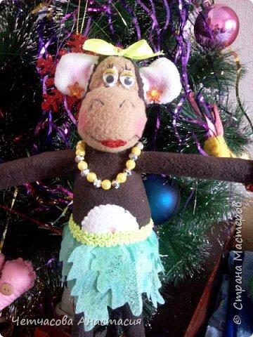 Вот моя новогодняя обезьяна  фото 2