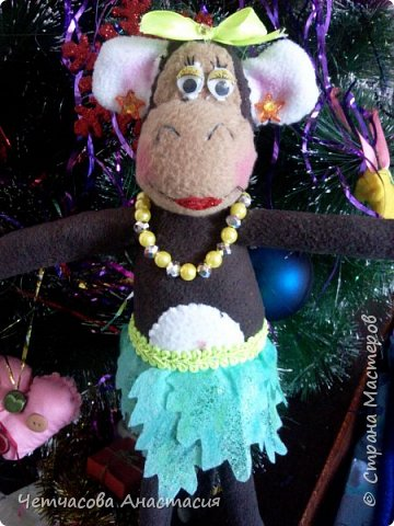 Вот моя новогодняя обезьяна  фото 1