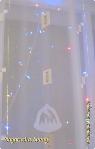 ВСЕМ Огромный Новогодний ПРИВЕТ!!!!  Хочу Поделиться своими поделками, украшениями и декорации комнат к Новому Году!  Это Ёлочка, украшена снежинок разноцветные типо конфети...)))) фото 7
