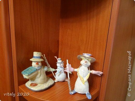 мои новогодние скульптурки фото 2