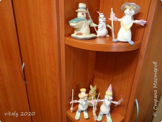 мои новогодние скульптурки фото 3