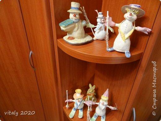 мои новогодние скульптурки фото 4