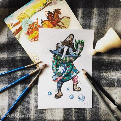 Идейный вдохновитель - Митя из Санкт - Петербурга, теперь герой иллюстраций моей дочери. фото 2