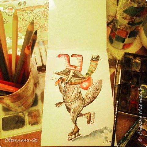 Идейный вдохновитель - Митя из Санкт - Петербурга, теперь герой иллюстраций моей дочери. фото 8