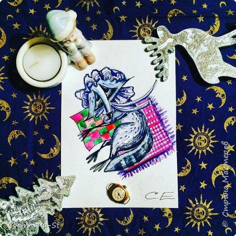 Идейный вдохновитель - Митя из Санкт - Петербурга, теперь герой иллюстраций моей дочери. фото 12
